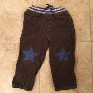 Green/blue/gray Baby Boden pants